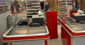 Caja de supermercado