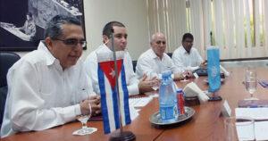 Marcelino Medina González, viceministro primero cubano de Relaciones Exteriores
