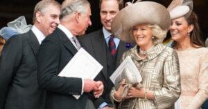Carlos de Gales y la duquesa Camilla de Cornualles