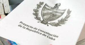 Proyecto de la nueva Constitución
