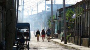 Turistas Cuba