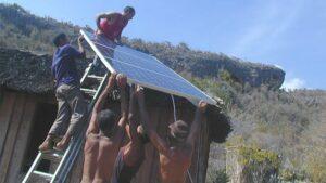 Panel solar Cuba