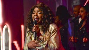 Gloria Gaynor, durante su concierto en la Noche de Gala del Festival del Habano