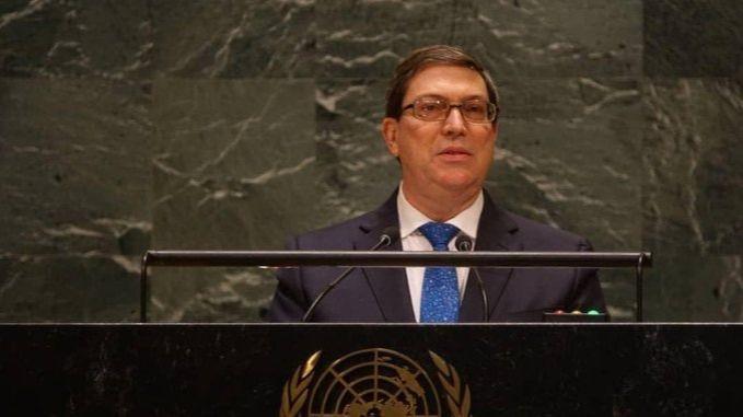 El ministro de Relaciones Exteriores de Cuba, Bruno Rodríguez