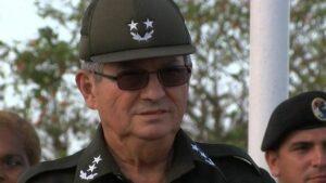 El vicealmirante Julio César Gandarilla Bermejo, ministro del Interior de Cuba
