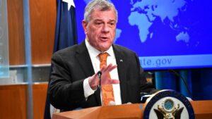 El subsecretario de Estado para Asuntos del Hemisferio Occidental de Estados Unidos, Michael Kozak