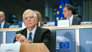 El Alto Representante de la Unión Europea para Política Exterior, Josep Borrell