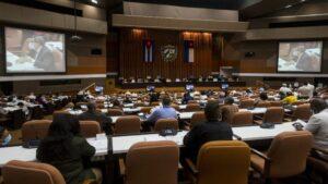 Reunión de la Asamblea Nacional de Cuba
