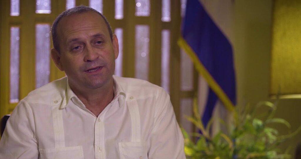 El ministro de Energía y Minas de Cuba, Liván Arronte